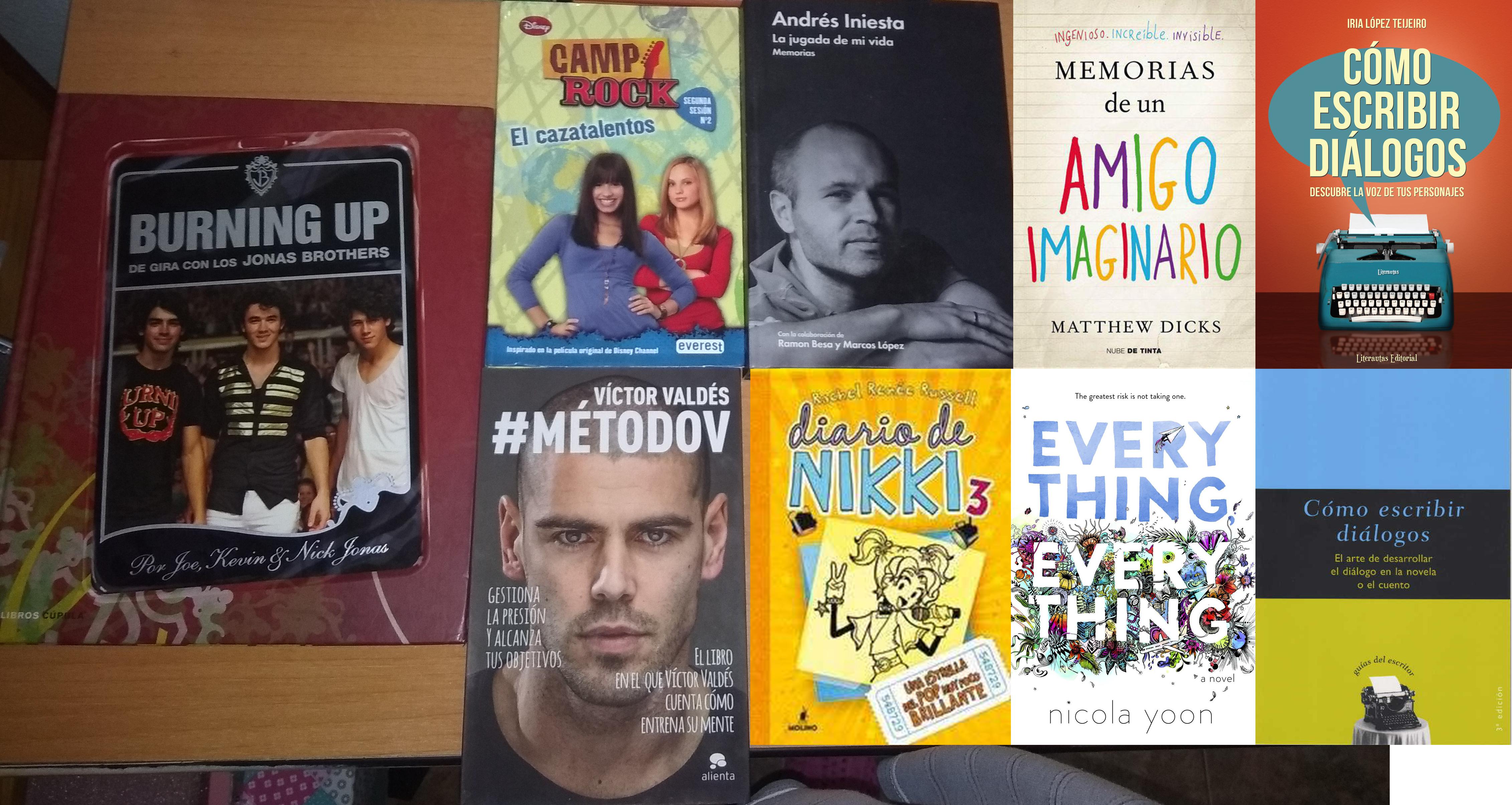 Mis libros a medio leer